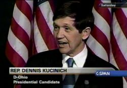2003 Dennis Kucinich DNC winter meeting