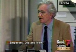 March 2, 2004. BookTV, Noam Chomsky