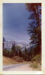 View from Road 232 Oregon, June 17, 1959