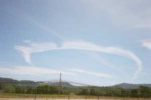 25P Persistent Jet Contrails Man Made Clouds and White Haze May 12 2010 11 55 AM Mendocino County CA Eastern View 13 Blitz
